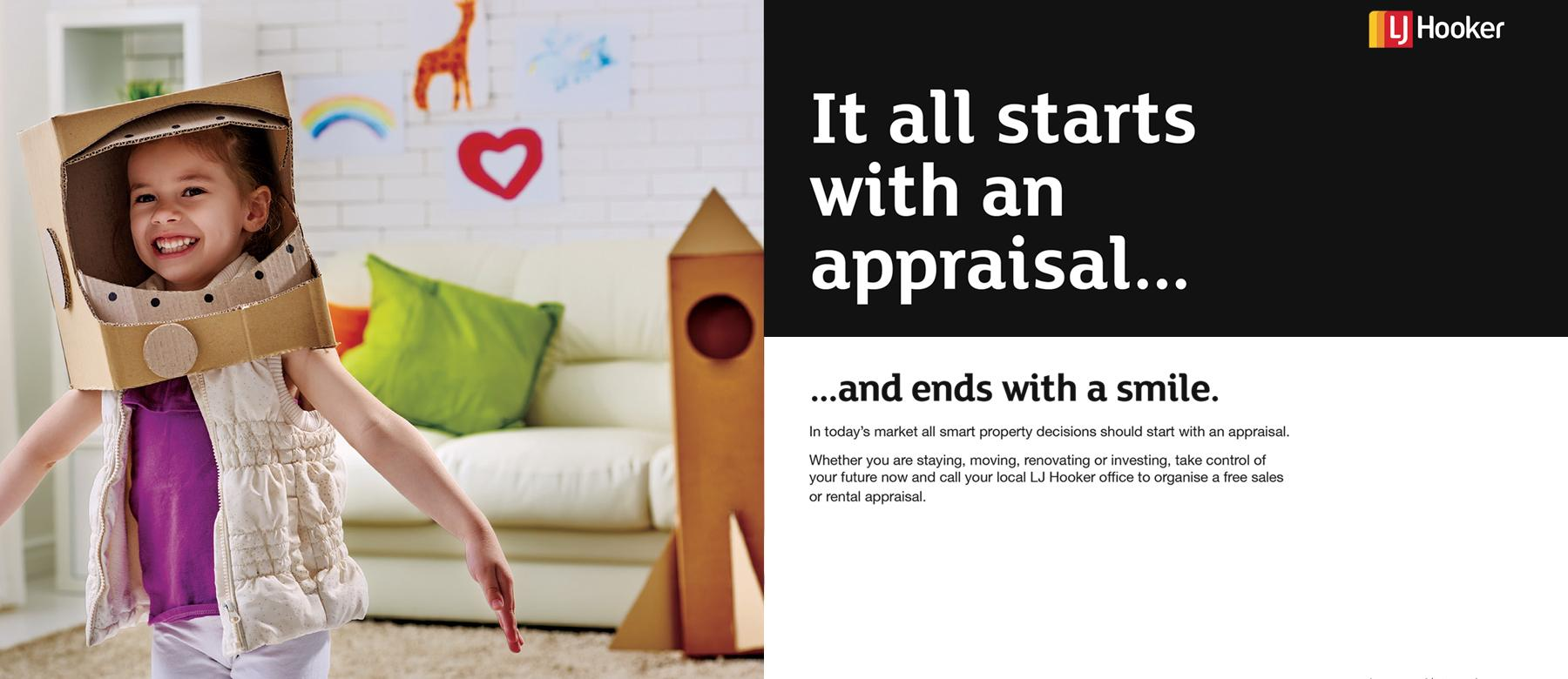 It all starts with an Appraisal